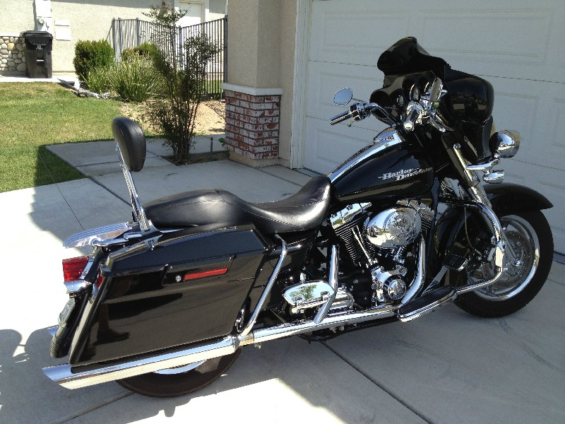 2006 Harley Davidson 174 Flhx I Street Glide 174 Vivid Black