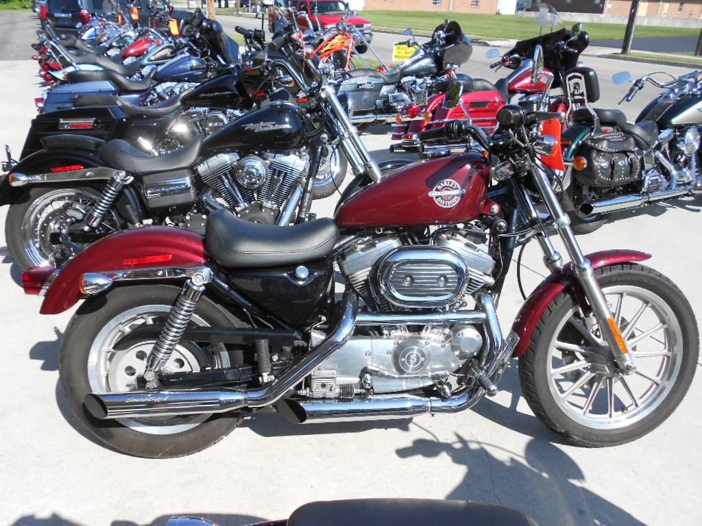 2002 Harley-Davidson® XLH-883 Sportster® 883 – $3500