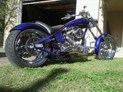 Used 2006 Spencer Bowman Customs Rock Bottom Chopper ST