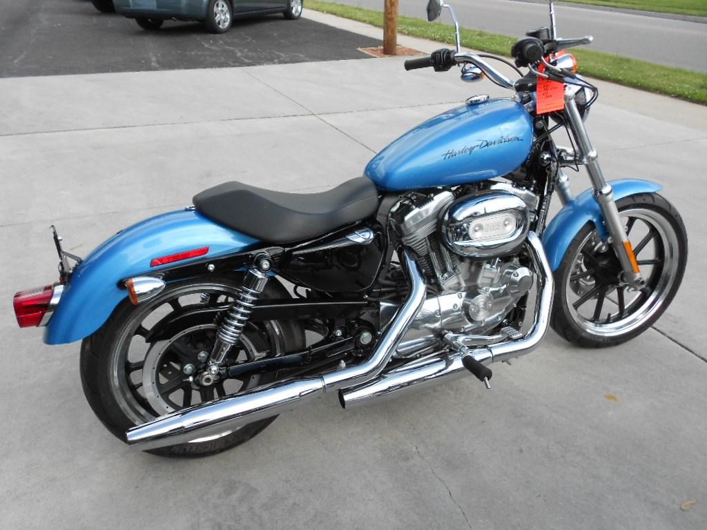 2011 Harley-Davidson® XL883L Sportster® 883 SuperLow™ – $7000