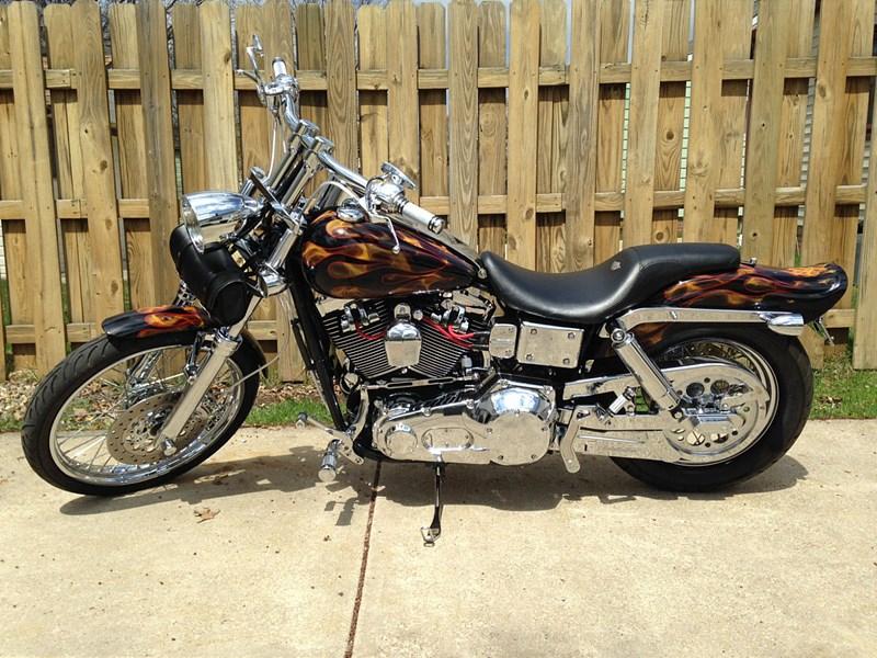 Sick Custom Dyna Wide Glide: 2003 Harley-Davidson® FXDWG/I-ANV Dyna® Wide Glide
