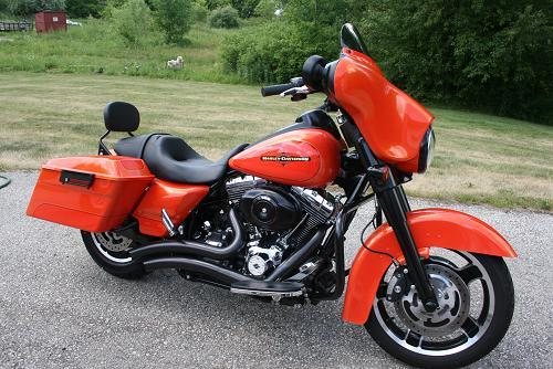 2012 harley davidson flhx street glide tequila sunrise two tone germantown wisconsin. Black Bedroom Furniture Sets. Home Design Ideas