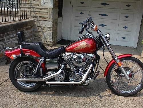 1985 Harley-Davidson® FXWG Wide Glide® (red), phila ...