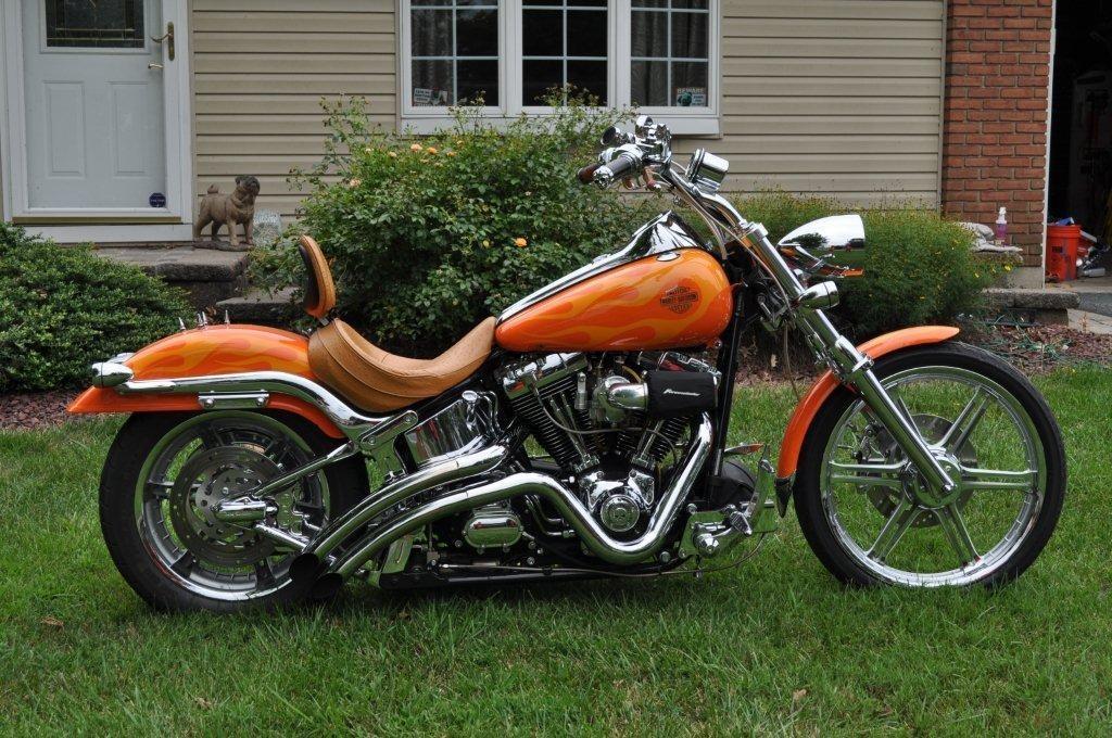 2002 Harley-Davidson® FXSTD/I Softail® Deuce™ (orange on ...