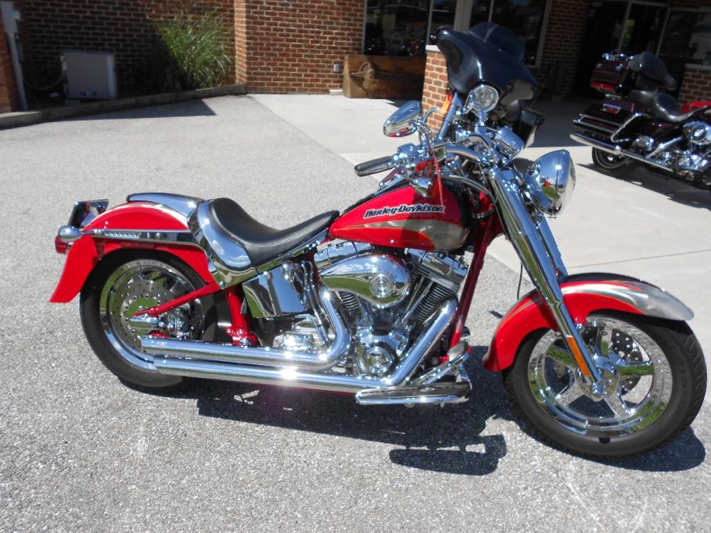 2005 Harley-Davidson® FLSTFSE Screamin' Eagle® Fat Boy® – $15500