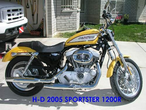 2005 harley davidson xl1200r sportster 1200 roadster yellow pearl phoenix arizona 10101. Black Bedroom Furniture Sets. Home Design Ideas