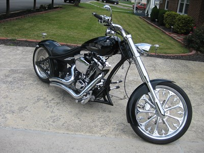 Used 2009 Death Row Motorcycles Unibobber