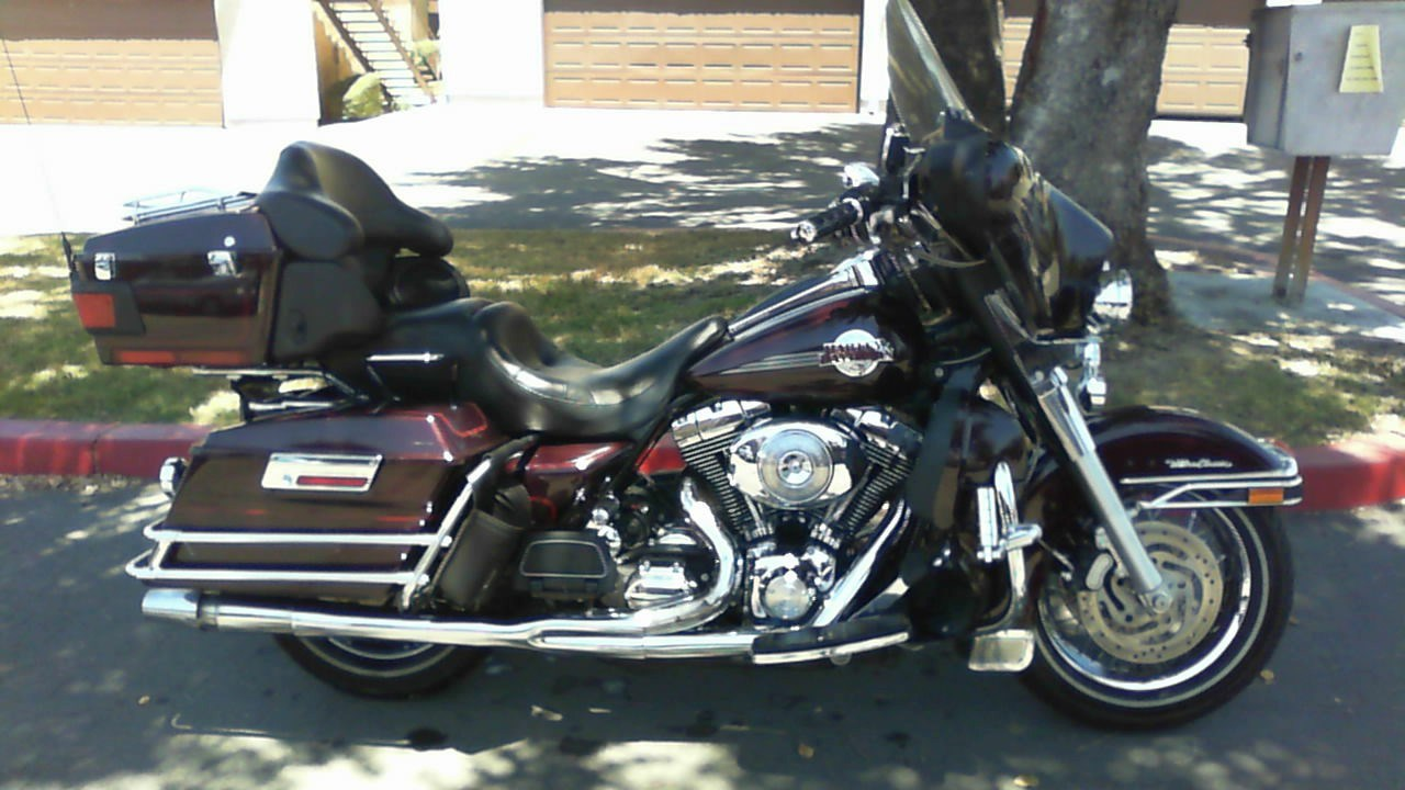 2005 harley davidson flhtcu i electra glide ultra classic black cherry pearl beaumont. Black Bedroom Furniture Sets. Home Design Ideas
