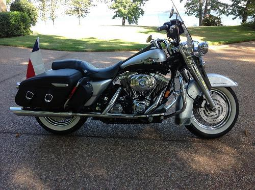 2003 harley davidson flhrc i anv road king classic anniversary two tone sterling silver and. Black Bedroom Furniture Sets. Home Design Ideas