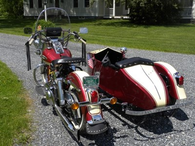 Used 1972 Harley-Davidson® Electra Glide® w/ Sidecar