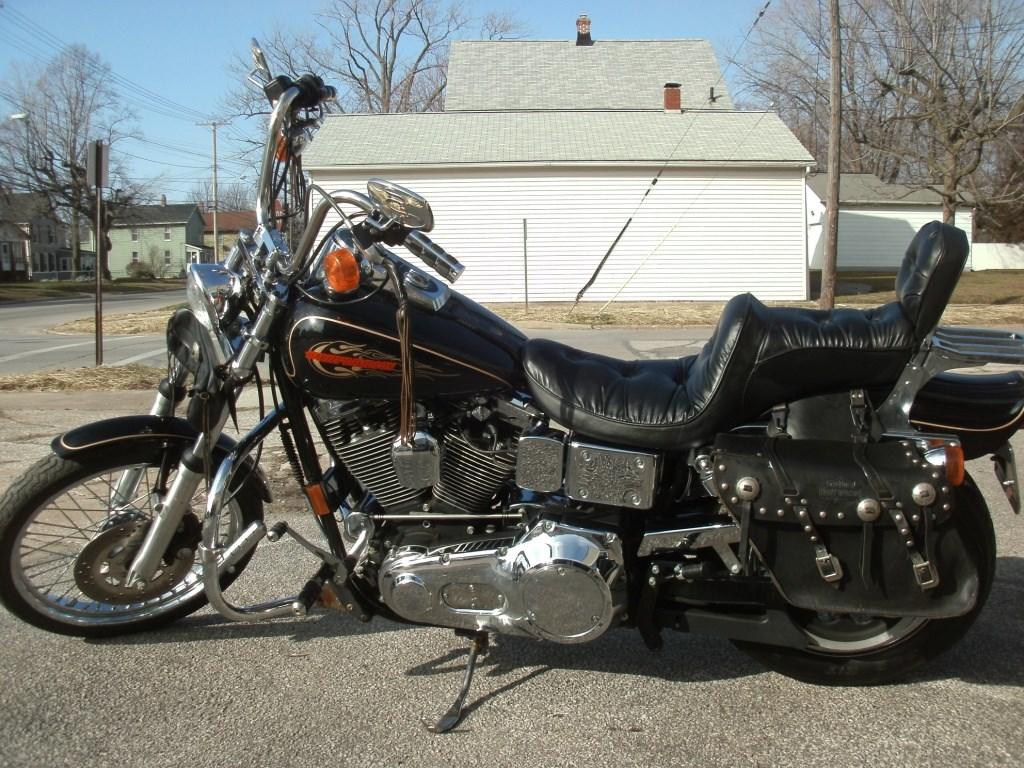 Sick Custom Dyna Wide Glide: 1997 Harley-Davidson® FXDWG Dyna® Wide Glide® Custom