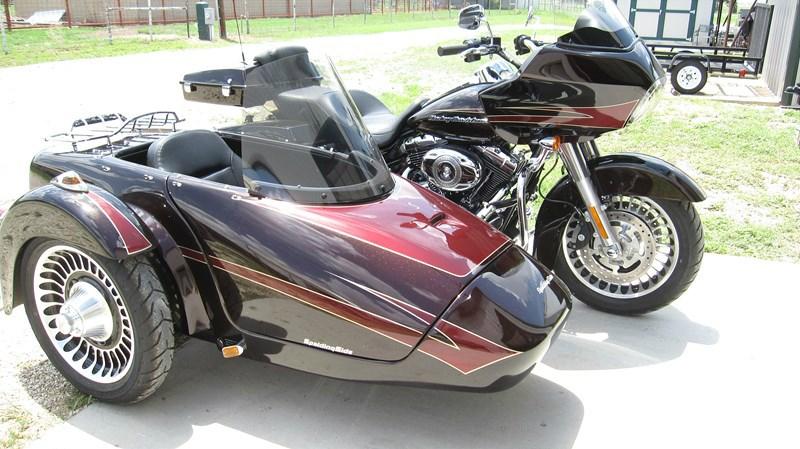 Harley Davidson Chico Ca >> 2009 Harley-Davidson® FLTR Road Glide® w/ Sidecar (Merlot ...
