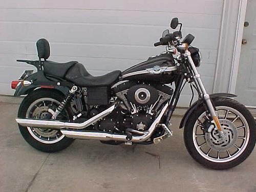 Harley Davidson Super Glide Super Glide Sport Super: 2003 Harley-Davidson® FXDX Dyna® Super Glide® Sport (black